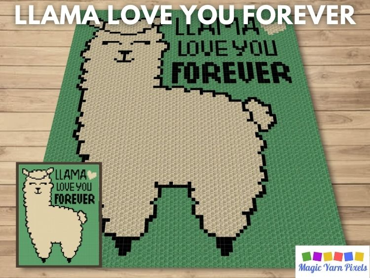 BLOG PREVIEW POSTER - Llama Love You Forever