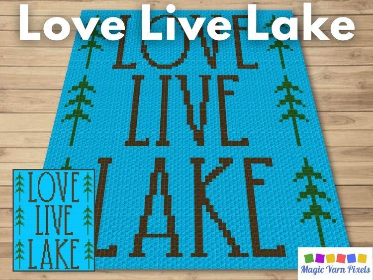 BLOG PREVIEW POSTER- Love Live Lake | Magic Yarn Pixels