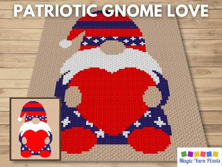 BLOG PREVIEW POSTER - Patriotic Gnome Love
