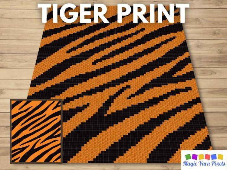 BLOG PREVIEW POSTER - Tiger Print