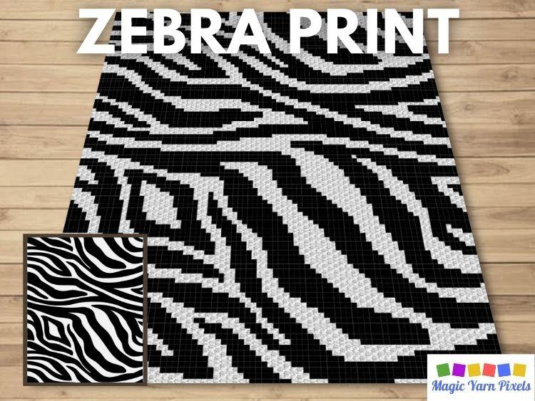 BLOG PREVIEW POSTER - Zebra Print