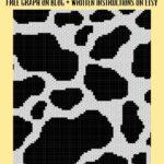 MAIN BLOG PIN - Cow Print | Magic Yarn Pixels