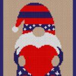 MAIN BLOG PIN - Patriotic Gnome Love Magic Yarn Pixels