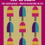 MAIN BLOG PIN - Summer Lollipop Ice Cream | Magic Yarn Pixels