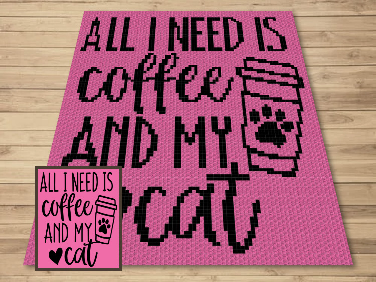 SHOP PHOTO 1 - All I Need Is Coffee and My Cat