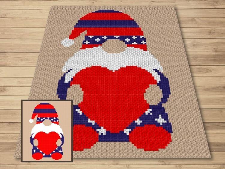 SHOP PHOTO 1 - Patriotic Gnome Love