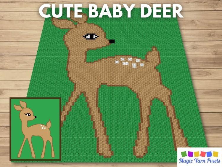 BLOG PREVIEW POSTER - Cute Baby Deer