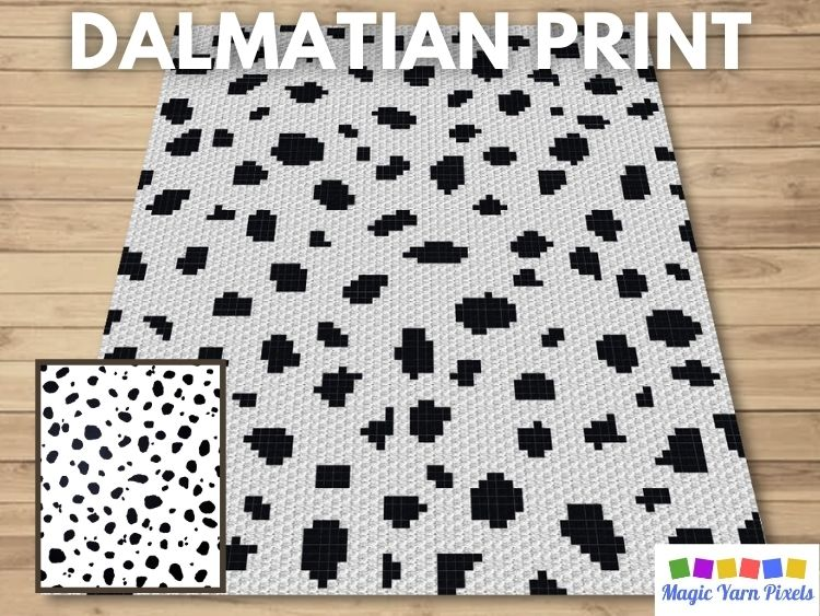 BLOG PREVIEW POSTER - Dalmatian Print
