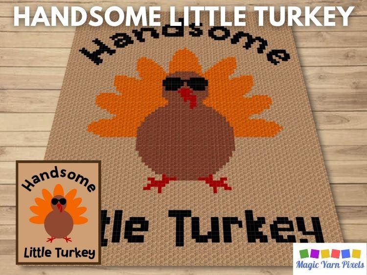 BLOG PREVIEW POSTER - Handsome Little Turkey