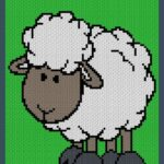 MAIN BLOG PIN - Cute Lamb Magic Yarn Pixels