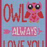 MAIN BLOG PIN - Owl Always Love You Magic Yarn Pixels