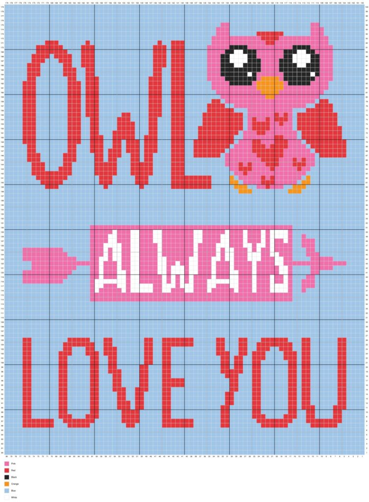 Owl Always Love You By Magic Yarn Pixels
