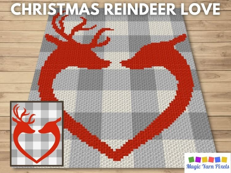 BLOG PREVIEW POSTER - Christmas Reindeer Love