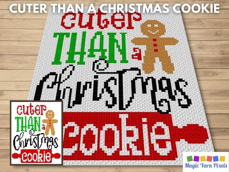 BLOG PREVIEW POSTER - Cuter Than A Christmas Cookie