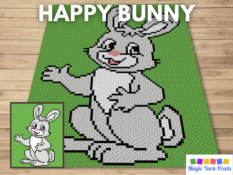 BLOG PREVIEW POSTER - Happy Bunny
