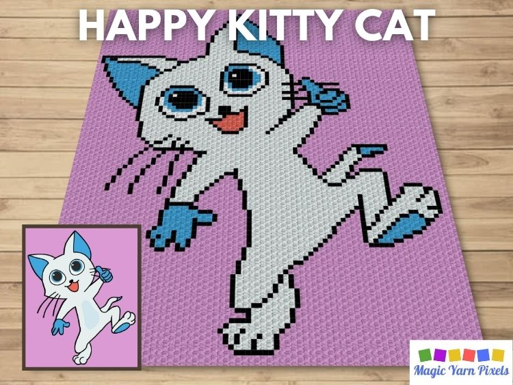BLOG PREVIEW POSTER - Happy Kitty Cat
