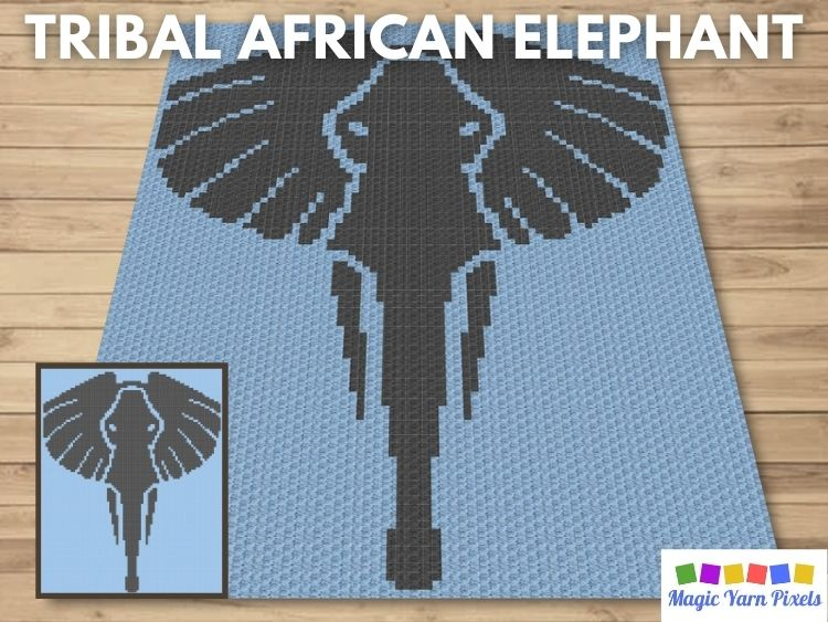 BLOG PREVIEW POSTER - Tribal African Elephant