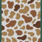 MAIN BLOG PIN - Brown Spotted Cow Print   Magic Yarn Pixels