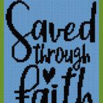 MAIN BLOG PIN - Saved Through Faith Magic Yarn Pixels
