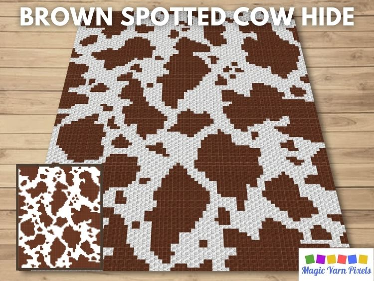 BLOG PREVIEW POSTER - Brown Spotted Cow Hide