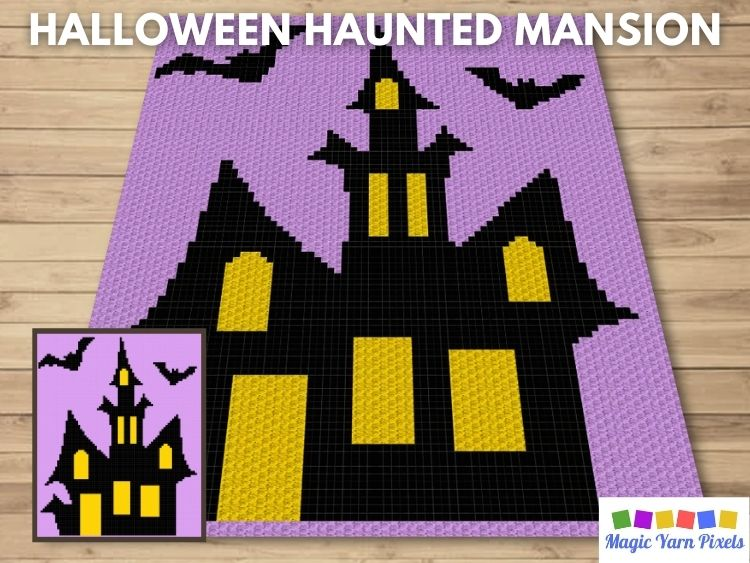 BLOG PREVIEW POSTER - Halloween Haunted Mansion