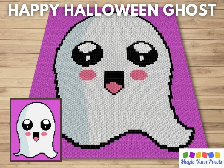 BLOG PREVIEW POSTER - Happy Halloween Ghost