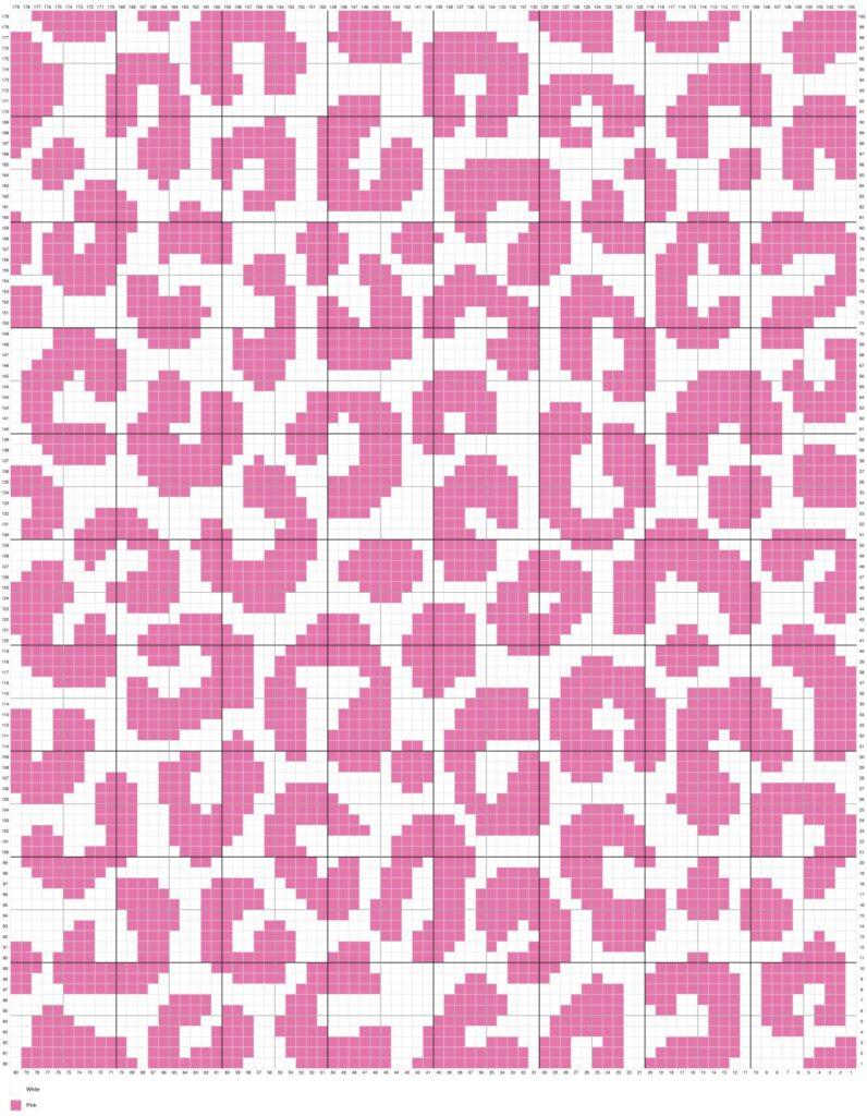 Leopard Cheetah Skin By Magic Yarn Pixels