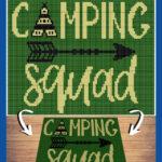 MAIN BLOG PIN - Camping Squad | Magic Yarn Pixels