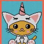 MAIN BLOG PIN - Kawaii Caticorn Unicat | Magic Yarn Pixels