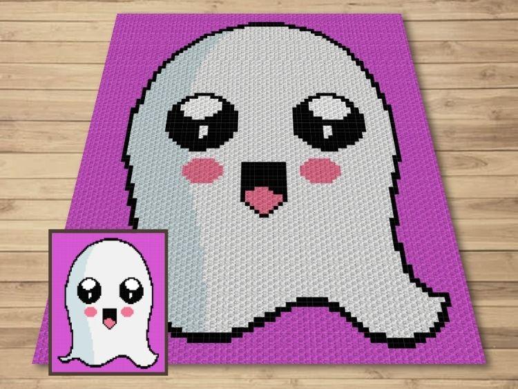 SHOP PHOTO 1 - Happy Halloween Ghost