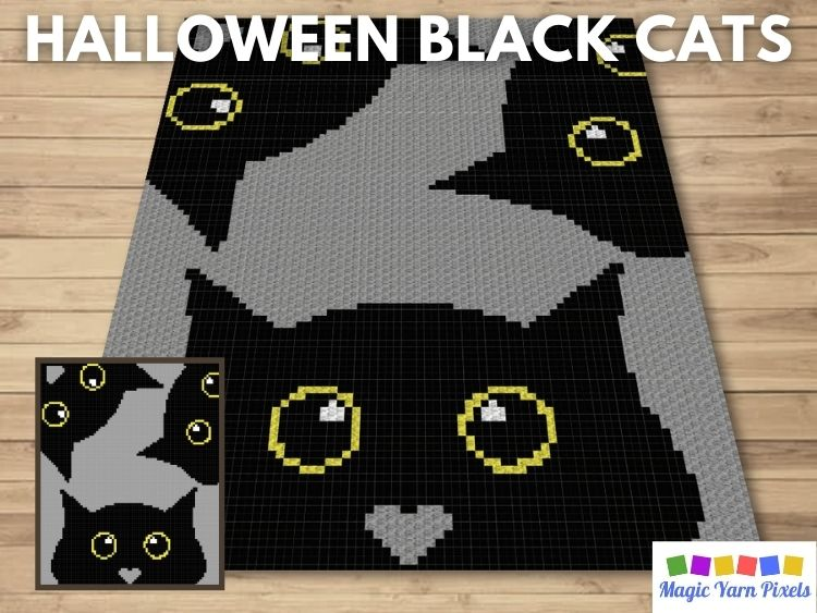 BLOG PREVIEW POSTER - Halloween Black Cats