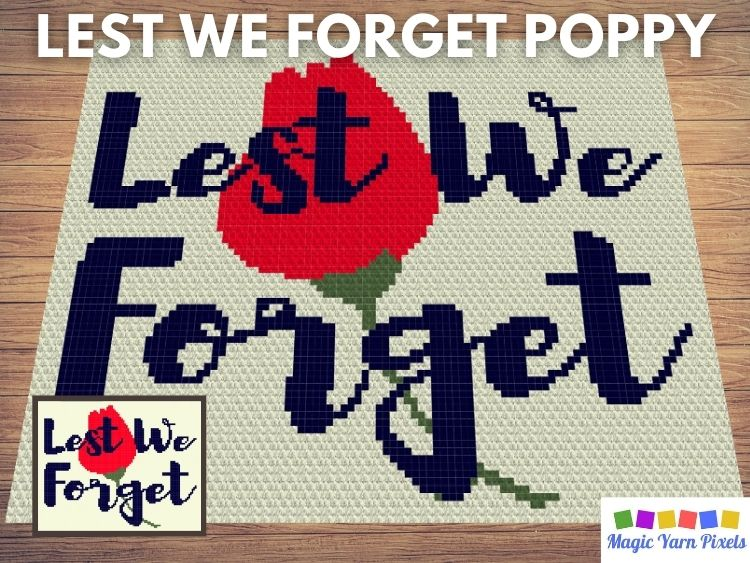 BLOG PREVIEW POSTER - Lest We Forget Poppy