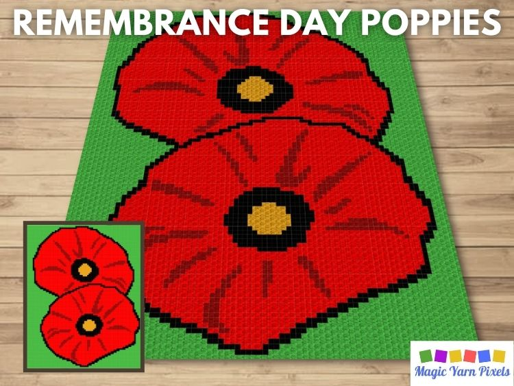 BLOG PREVIEW POSTER - Remembrance Day Poppies